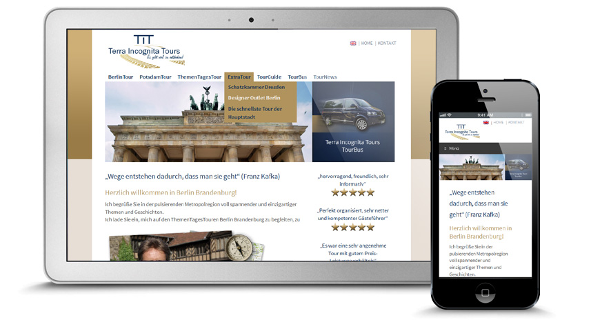 Webdesign Berlin Tours