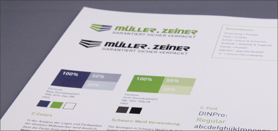 Corporatedesign Industrieunternehmen