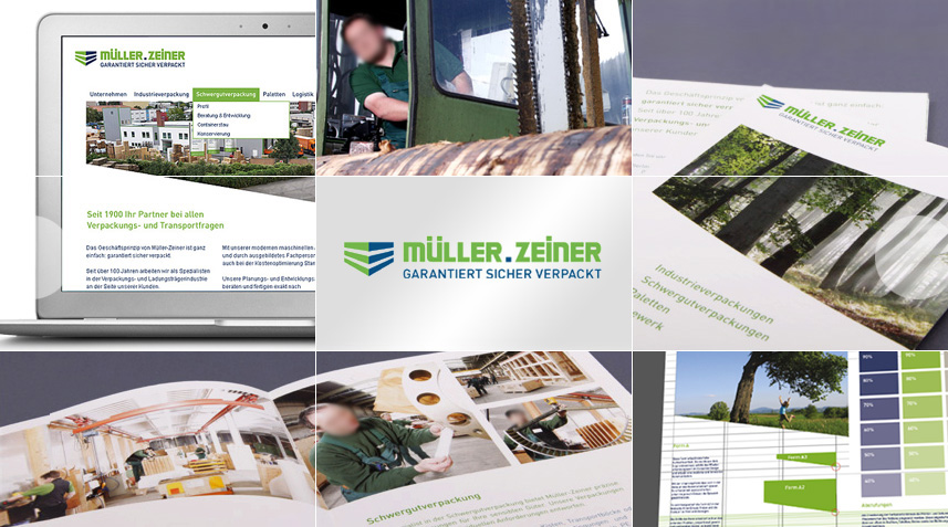 Corporate Design Industrieunternehmen