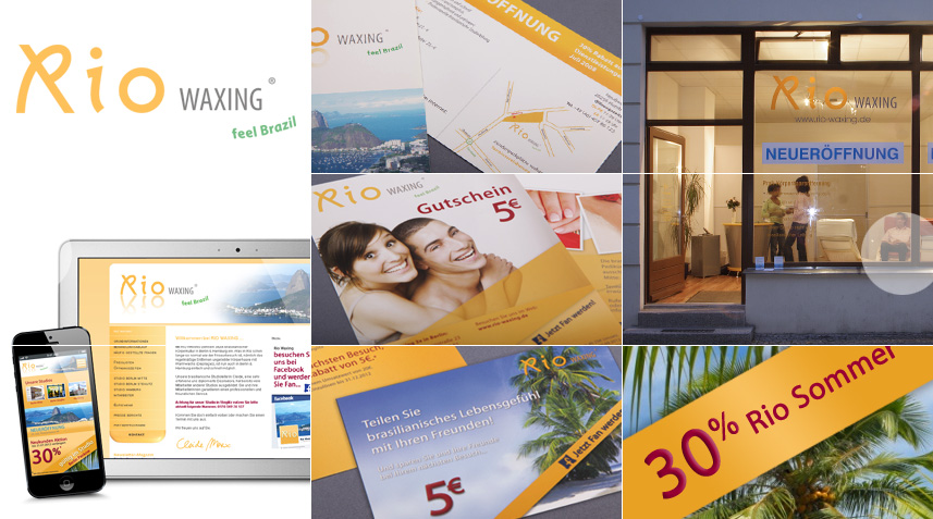 Corporate Design Waxingstudio