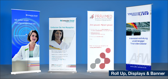 Roll Up, Displays & Banner
