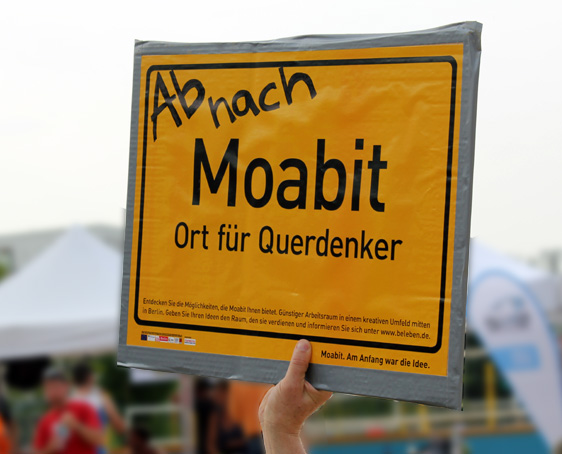 Webdesign Moabit Schild